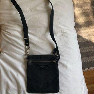 Coach Crossbody Fabric Bag